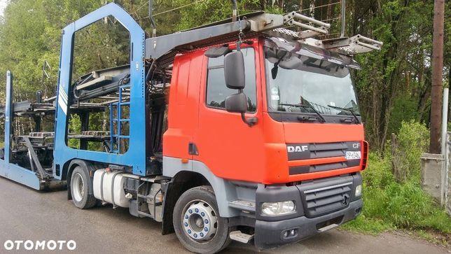 DAF CF 85.410  lohr autotransporter