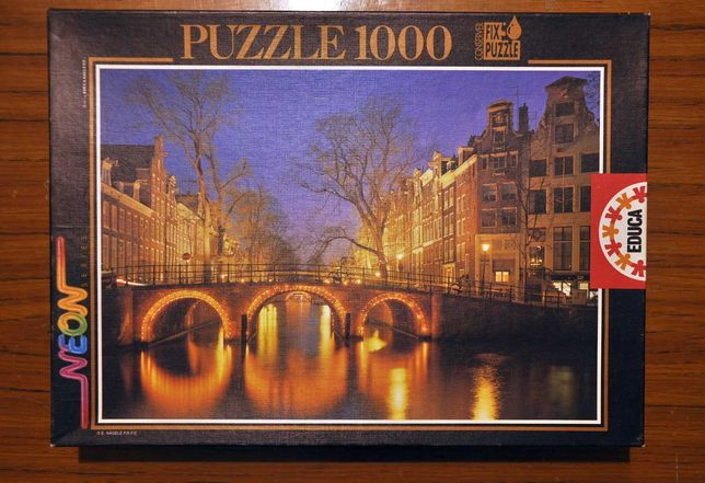 Puzzle 1000 Educa - Amsterdam