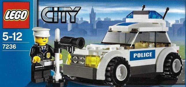 LEGO City 7236 Полицейский автомобиль (оригинал 100%)