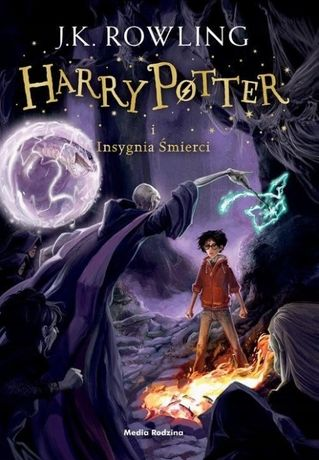 Harry Potter i Insygnia Śmierci J.K. Rowling - twarda oprawa