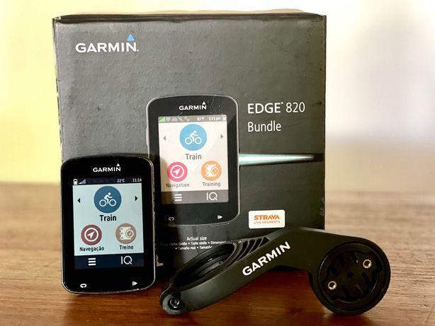 Garmin Edge 820 + Sensor velocidade + Sensor cadência