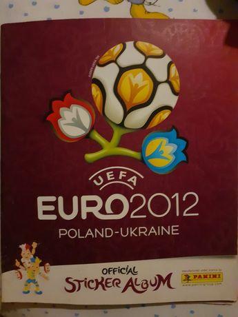 Coleção Cromos Euro 2012