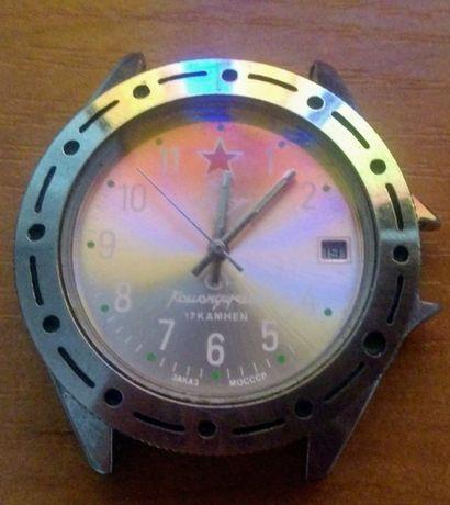 Часы ,,Командирские,, 17 камней. Заказ МОСССР