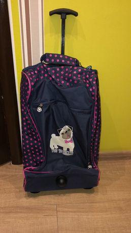 Детский чемодан, сумка на колёсах дорожный david&goliath