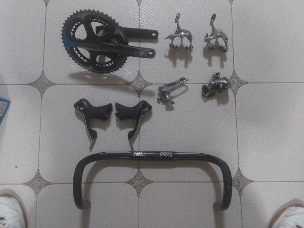 Peças de bicicleta dura ace.shimano