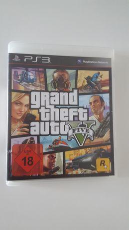Gra oryginalna na konsole PlayStation PS Gta 5 V