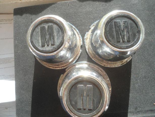 Колпачки на ступицу,колпаки хром Москвич 2140,412,408,ИЖ,АЗЛК