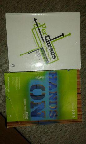 Livros de cursos pt e inglês