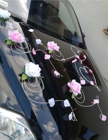 Ozdoby na samochód ślubny