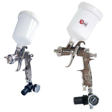 Краскопульт пневматический LVLP, с редуктором INTERTOOL PT-0130