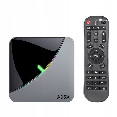 Smart tv box A95X f3 air s905x3 android 9.0 4/32GB netflix hbo