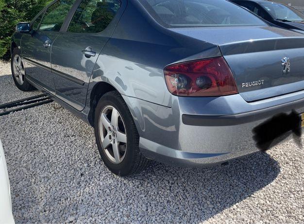 Peugeot 407 sem nada apontar