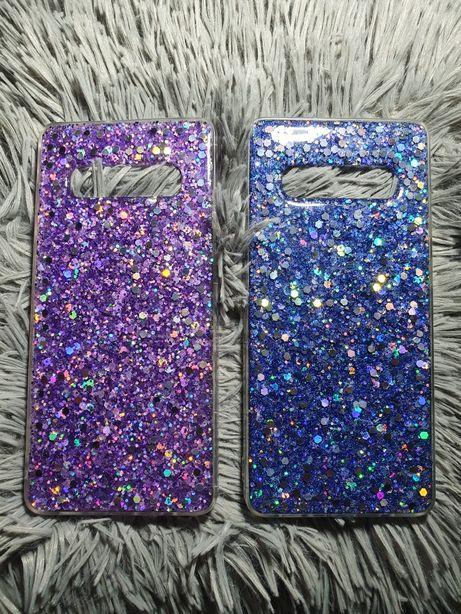 Etui/ case brokatowe Samsung Galaxy s10 + (plus)