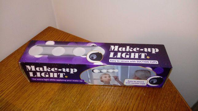 Nowe lampki do makijażu na przyssawki