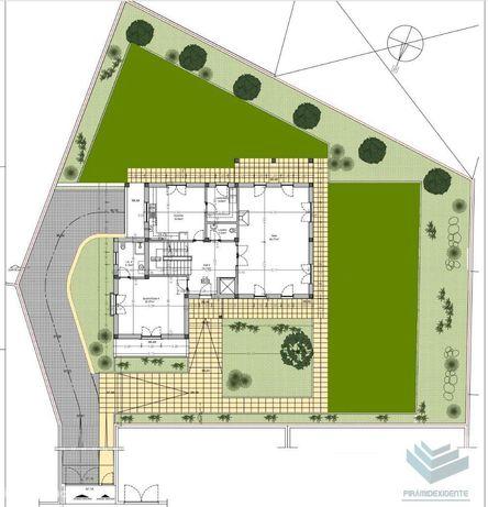 Lote (cerca de 1.200m2) - projecto aprovado - Vila Nogueira Azeitão