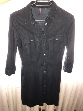 Vestido/Camisa Cor Preta
