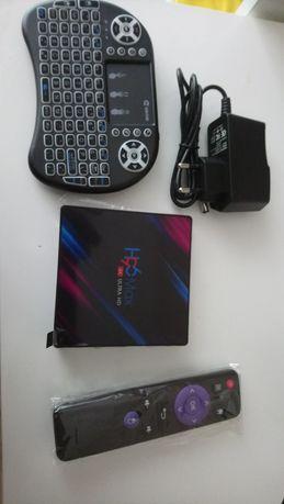Tv box android 4gb ram 32gb dysk 4k HD usb 3.0