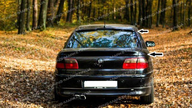 Лип спойлер сабля для Opel Omega B козырек на стекло Опель Омега Б