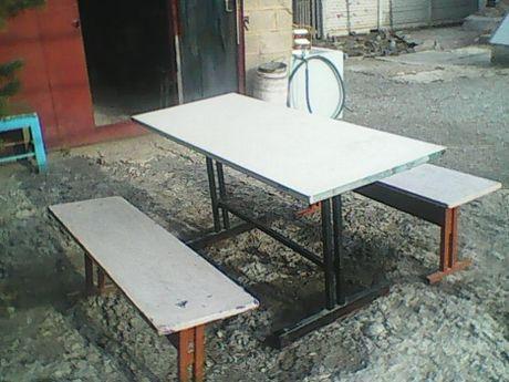 стол столовый с лавками