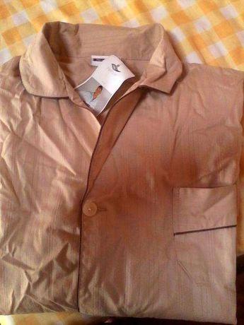 Camisa de pijama-homem