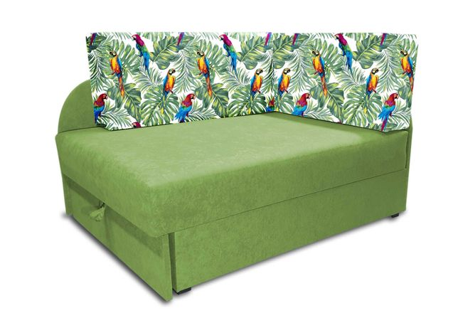 Narożnik Kubuś, łóżko rozkładane dla dziecka, sofa dziecięca