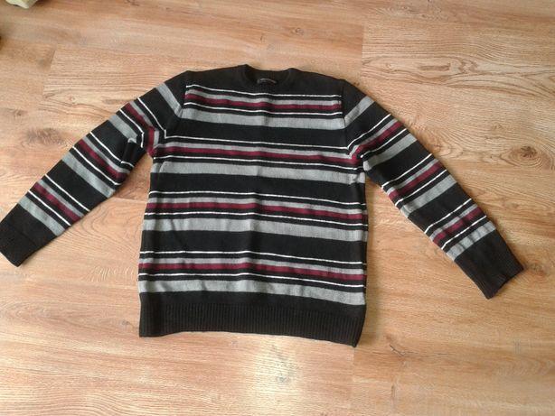 Męski sweter pasy OXIDE r. M-L