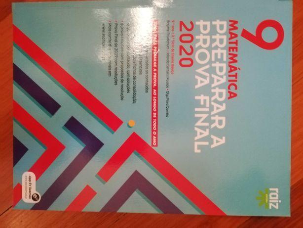 Vendo livros Preparação Exame Nacional
