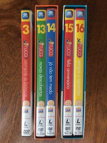 DVDs Ruca (Vol. 2, 13, 14, 15, 16)