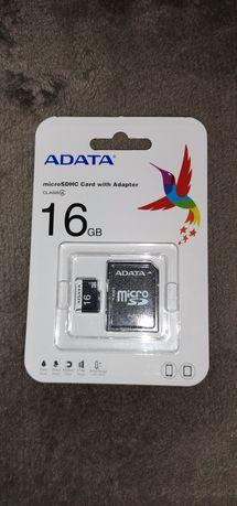 Karta micro SDHC 16 GB