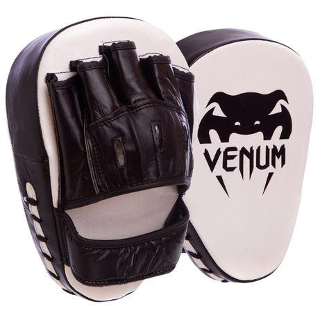 Лапы боксерские гнутые Venum, Lonsdale, Twins кожа