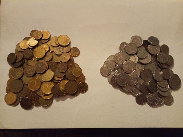 Monety różnych nominałów