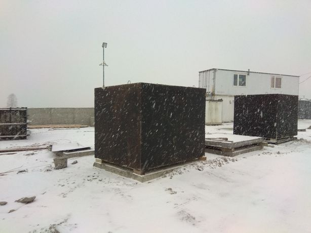Zbiornik betonowy na gnojowicę szambo szamba betonowe 6m3 lub 16 kubik