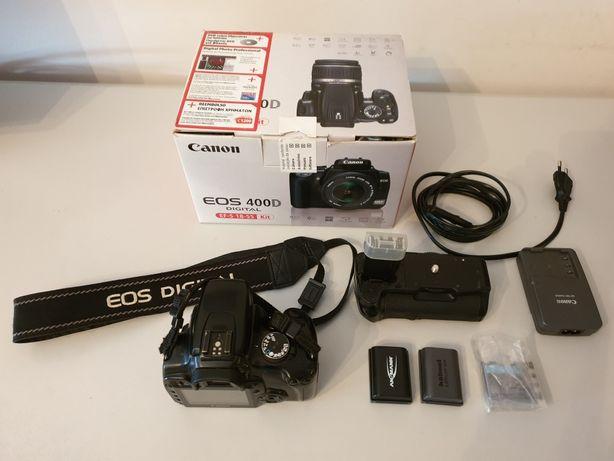 Canon 400D + lente 28-90