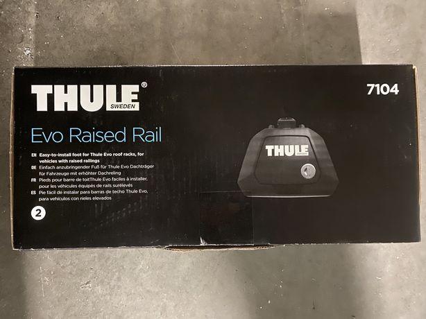 thule evo raised rail 7104