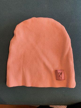 Dzianinowa czapka dla dziewczynki, rozm. 122-128