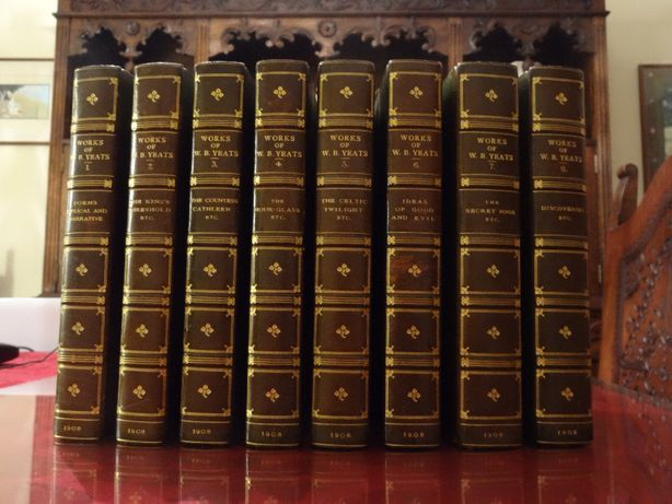 YEATS, William Butler – 'The Collected Works' ∟ 8 Vols. | 1908