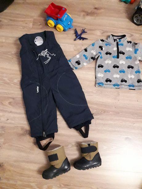 Пакет вещей, 80р, 18 месяцев, 21 р, Decathlon, набор комбинезон