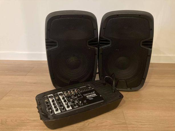 Denver DJ-200 zestaw nagłośnienia estradowego kolumny dj