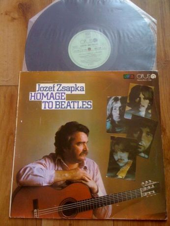 Płyta winylowa z 1986 r. - Józef Zsapka Homage To Beatles