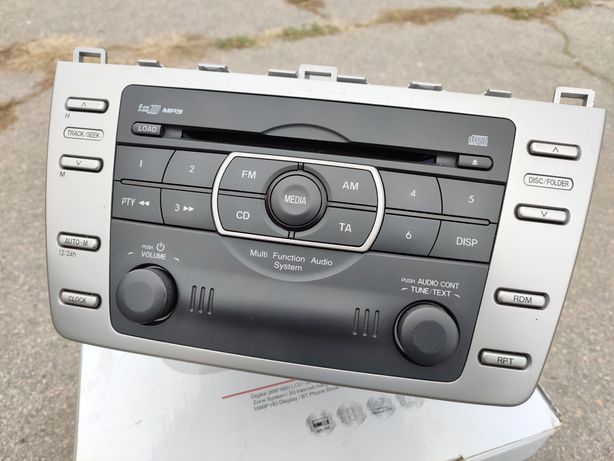 Штатная магнитола Mazda 6 GH\Мазда 6
