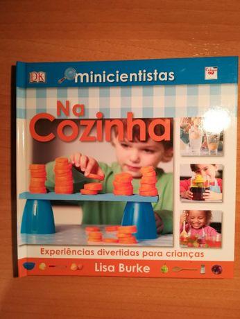 Livro Minicientistas na Cozinha
