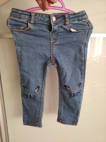 Spodnie Zara rozm 92
