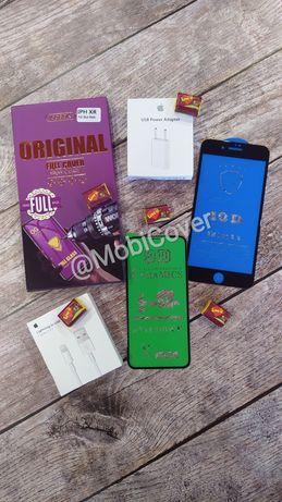 Защитное стекло на Айфон 6/6s, 7/7+, 8/8+, X/Xs/11pro, Xr/11 iphone