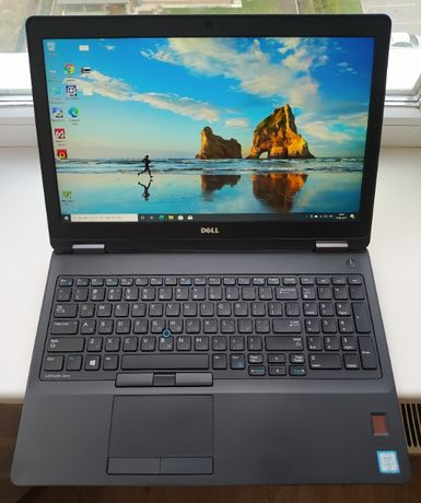 Dell Latitude e5570, FHD IPS, i7-6600u, AMD R7 2Gb, 16Gb RAM, SSD 256