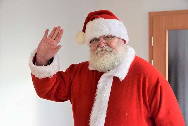 Wynajem Świętego Mikołaja na wigilię Prawdziwy strój Warszawa