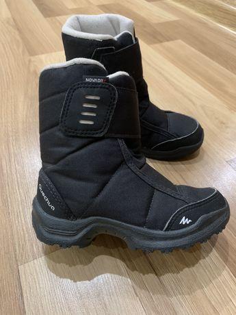 Продам зимние ботинки Qvechua