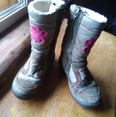 зимние сапоги капика Kapika 29 19.2см + подарок демисезонные ботинки.
