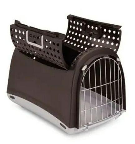 Transporter dla kota, psa, królika, cabrio, brązowy, używany