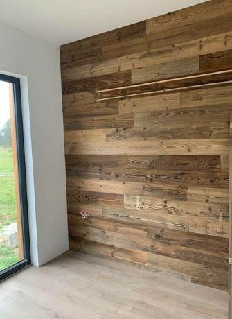 Stare deski belki rustykalne drewno na ścianę, elewację, stół,lustro,