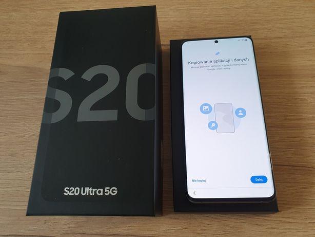 Telefon Samsung Galaxy S20 Ultra 5G jak Nowy Gwarancja 128GB